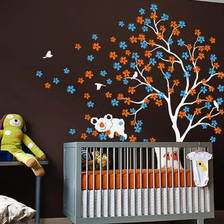 Wall Art Tree With Cuddly Koala Bear Wall Sticker