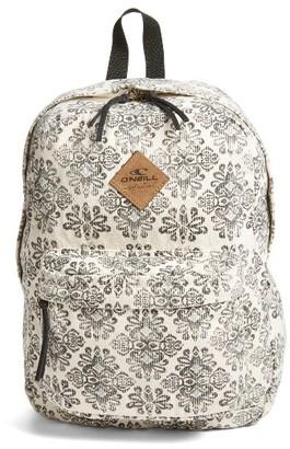O'Neill Beachblazer Backpack - White $46 thestylecure.com