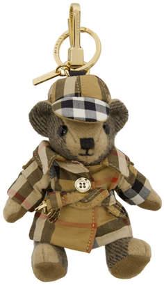 Burberry Beige Bear Keychain