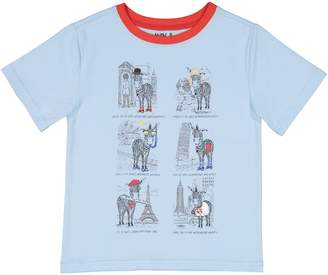 Andy & Evan Zebra Tourist T-Shirt