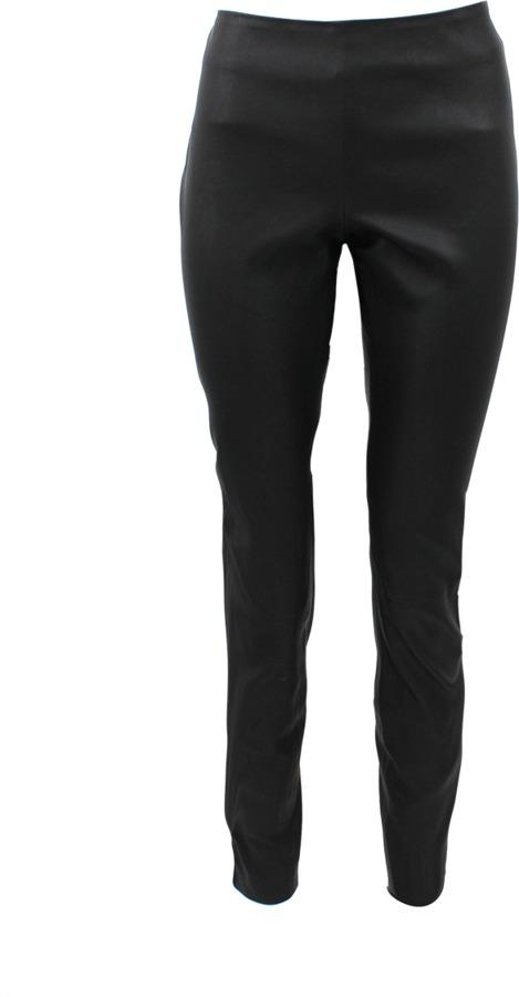 Valentino Ankle Zip Leather Legging