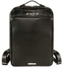 Valentino SKITS Cambridge Pebble Grain Leather Tech Backpack