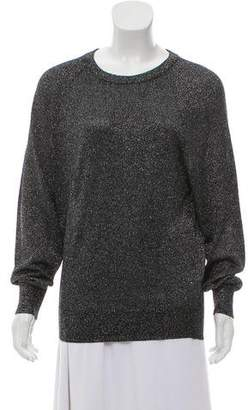 Michael Kors Metallic Crew Neck Sweater