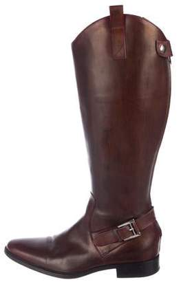 Magnanni Leather Pointed-Toe Boots