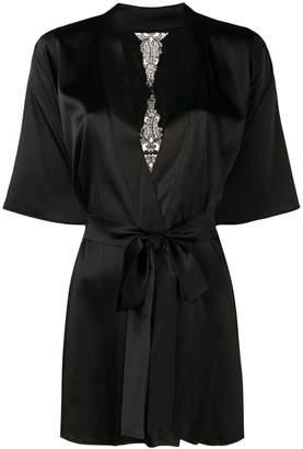 Fleur of England slim-fit belted robe