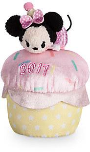 Minnie Mouse ''Tsum Tsum'' Plush - Birthday Cupcake 2017 - Mini - 4''