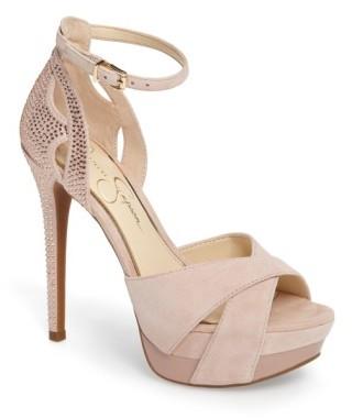 Women's Jessica Simpson Wendah Strappy Platform Sandal $109.95 thestylecure.com