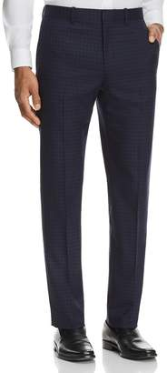Theory Marlo Plaid Slim Fit Suit Pants
