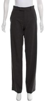 Theory Wool Straight-Leg Pants w/ Tags