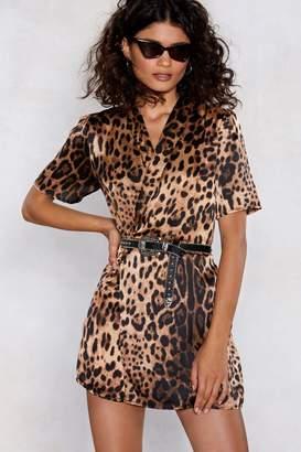Nasty Gal Claws Away Hun Leopard Romper