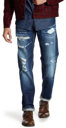 "Gilded Age Baxten Distressed Slim Fit Jeans - 32-34"" Inseam"