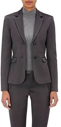 ATM Anthony Thomas Melillo Women's Satin Blazer $550 thestylecure.com