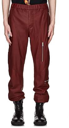 Givenchy Men's Leather Jogger Pants
