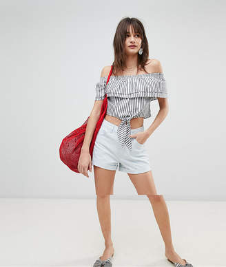 Vero Moda Roll Up Denim Shorts