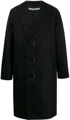 Alexander Wang zip double-breasted coat