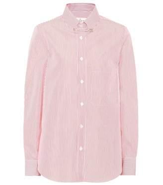 Golden Goose Janice striped cotton shirt