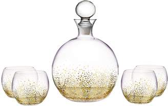 Fitz & Floyd Luster Decanter Set (5 PC)