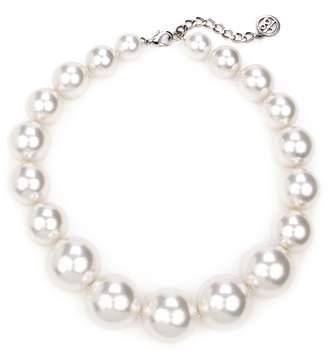 Ben-Amun Imitation Pearl Collar Necklace
