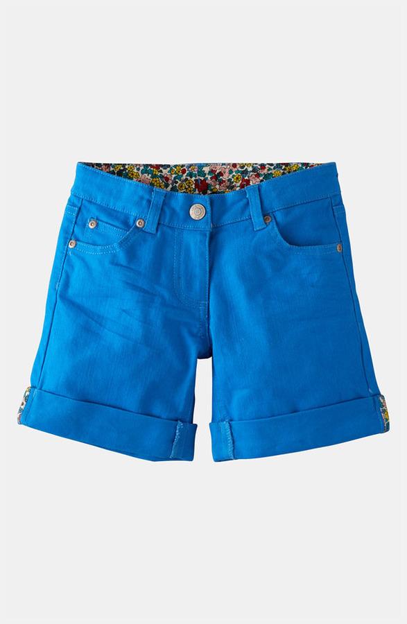 Mini Boden 'Roll Up' Shorts (Little Girls & Big Girls)