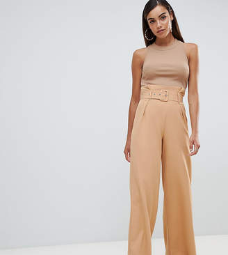 Missguided Belted Paperbag Trouser