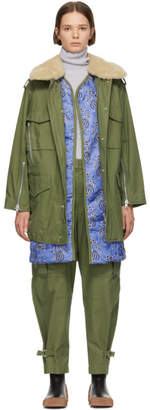3.1 Phillip Lim Green Utility Coat