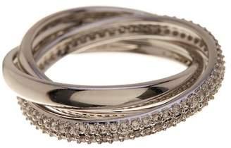 Nadri Trinity Eternity Pave CZ Ring - Size 6