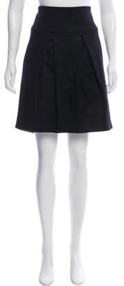 Brunello Cucinelli GUNEX x Wool Knee-Length Skirt