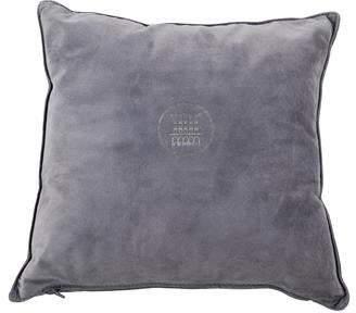 Fendi Suede Throw Pillow