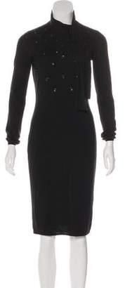 Christian Dior Cashmere & Silk-Blend Dress