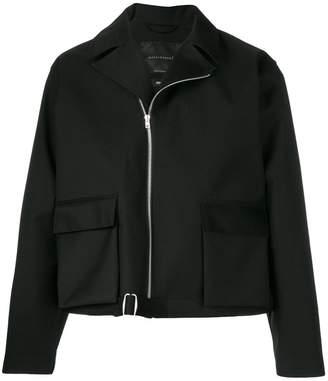 MACKINTOSH 0001 asymmetric zipped jacket