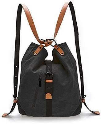 At Canada Women Shoulder Bag Yolin Las Fashion Backpack Purse Multifunctional Casual Canvas Crossbody