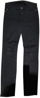Acquaverde Black Cotton - elasthane Jeans for Women