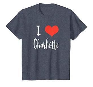 I Love Charlotte T Shirt