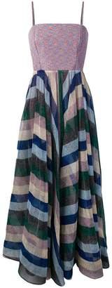 Missoni square neck striped dress