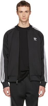 adidas Originals Black Superstar Track Jacket $70 thestylecure.com