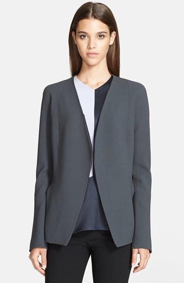 Narciso Rodriguez Wool Crepe Jacket