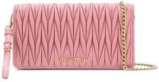 Miu Miu (ミュウミュウ) - Miu Miu マテラッセ クラッチバッグ
