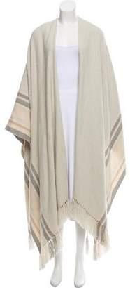 The Row Keyla Silk-Cashmere Poncho w/ Tags