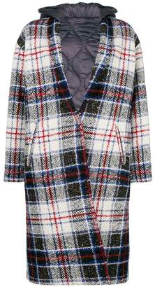 Couture Forte Dei Marmi check single-breasted coat
