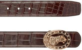 Stefano Ricci Tiger Diamond Belt