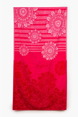 Desigual Romantic Patch Bath Towel