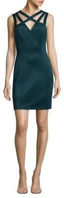 GUESS Cutout Sheath Dress