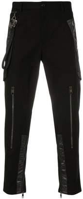 Dolce & Gabbana tape detail trousers