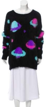 Jeremy Scott Angora Knit Sweater