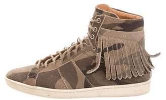 Saint Laurent Court Classic SL/18H Camo Sneakers