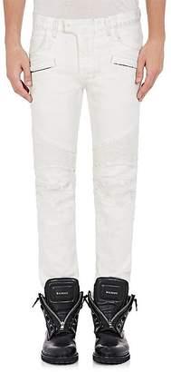 Balmain Men's Biker Jeans
