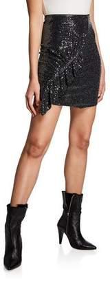 IRO Lilie Sequined Short Skirt