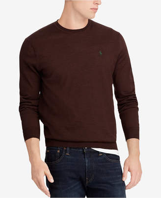 Polo Ralph Lauren Men Merino Wool Crew-Neck Sweater