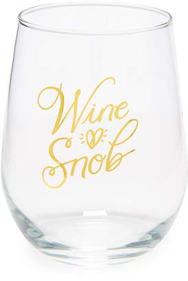 Pool' Gift Boutique Wine Snob Stemless Wine Glass