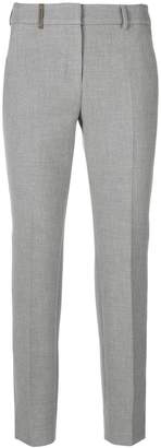 Peserico cropped cigarette trousers